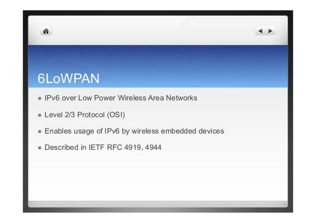 6lowpan introduction