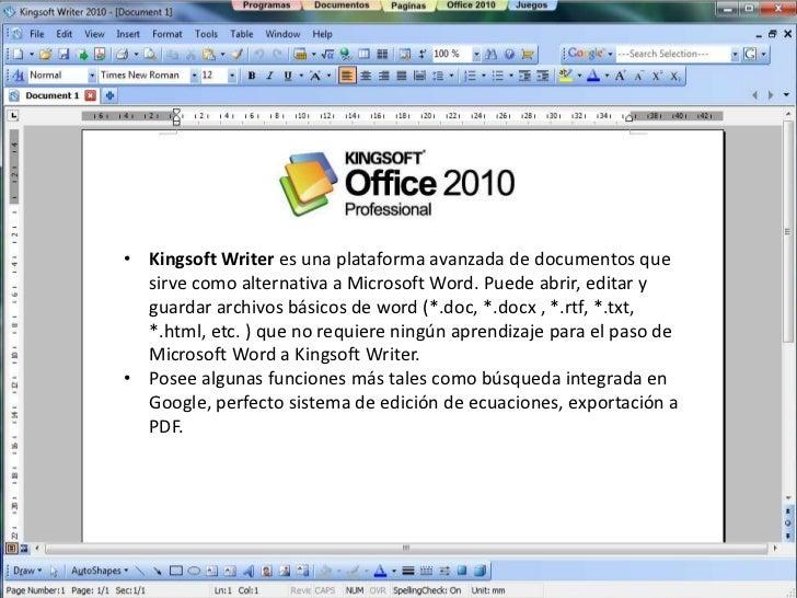 Programas Para Crear Documentos