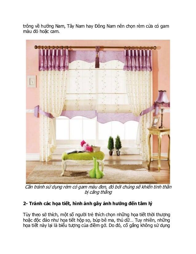 6 lưu ý khi chọn rèm cửa theo phong thủy để rước lộc vào nhà Slide 3
