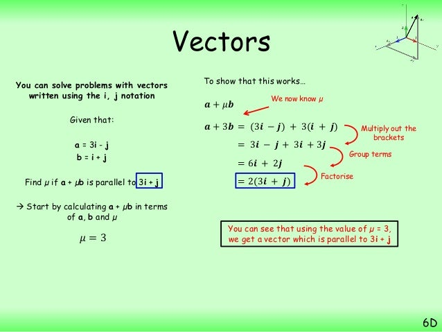 how to know if vectors are parallel or orthogonal