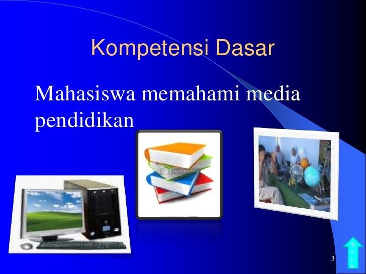 Konsep Media Dan Teknologi Pembelajaran Media Dan Teknologi Pembelajaran 6 Media Pendidikan