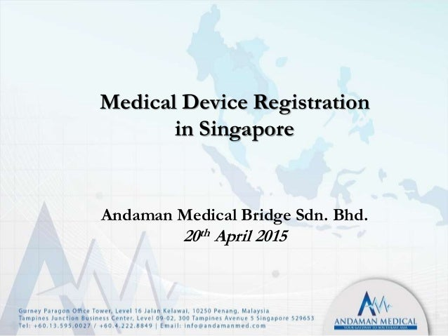 overview of medical device registration in Placing a medical device into the european market is contingent upon  compliance with the medical device directive (93/42/eec.