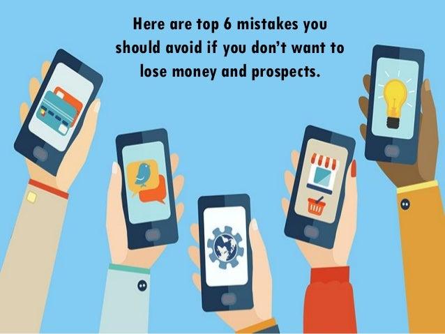 6 Mobile Marketing Mistakes To Avoid Slide 3
