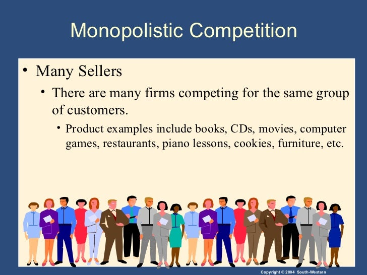 Pure and monopolistic competition