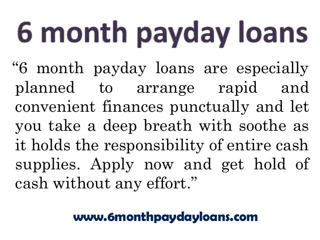 a list of pay day advance financial products
