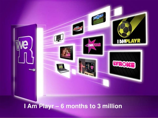 I Am Playr – 6 months to 3 million