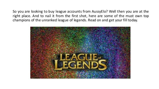 how to get champions league of legends
