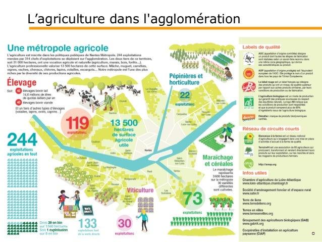 Forum Nantes ville comestible 24/01/15 : données et actions de Nantes Métropole sur l'agriculture périurbaine Slide 3