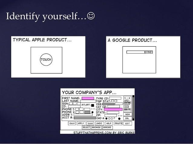 Identify yourself…J