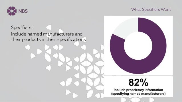 What Do Specifiers Want From Product Manufacturers