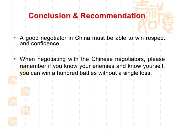 negotiation with chinese 10 keys to success to ensure your negotiations in china go smoothly.