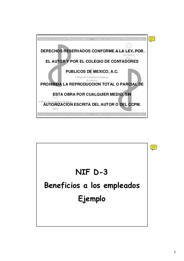 1 DERECHOS RESERVADOS CONFORME A LA LEY, POR EL AUTOR Y POR EL COLEGIO DE CONTADORES PUBLICOS DE MEXICO, A.C. PROHIBIDA LA...