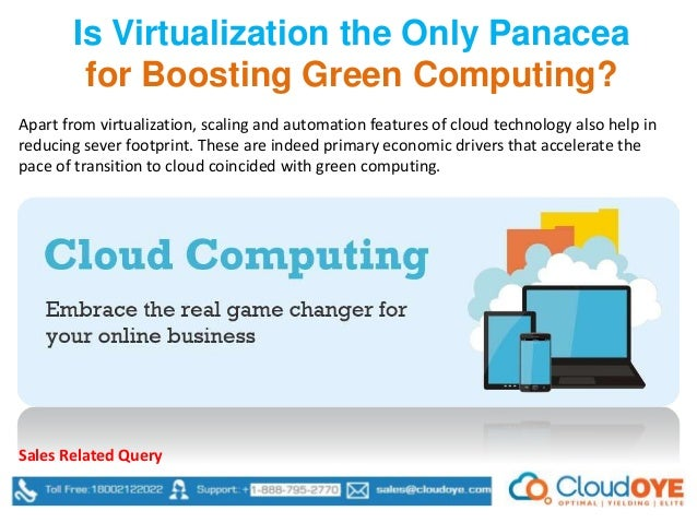 green computing a panacea for environmental degradation Gcsm makes energy-aware task allocation decisions dynamically and aims to prevent performance degradation green computing environment, cluster computing.
