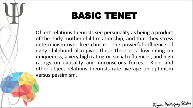 6 object relations theory