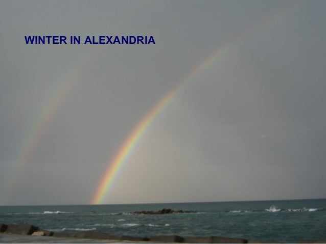 WINTER IN ALEXANDRIA