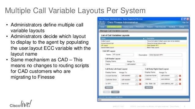 DEVNET-1130 Cisco Finesse API's