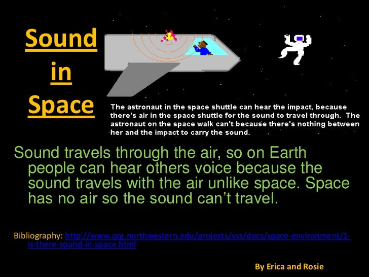 Can Sound Travel Through Space Images