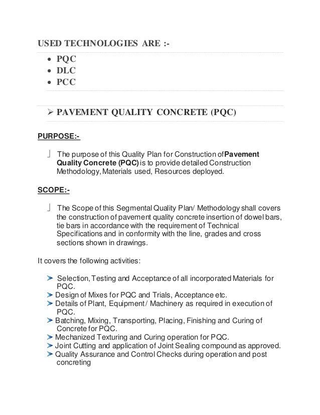Pavement quality concrete pdf