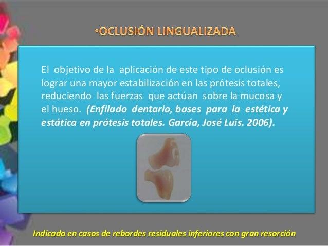 •Chequeo en lateralidad LADO DE TRABAJO (LATEROTRUSIÓN) DEBE PRODUCIRSE CONTACTO SIMULTÁNEO EN BALANCE (MEDIOTRUSIÓN)