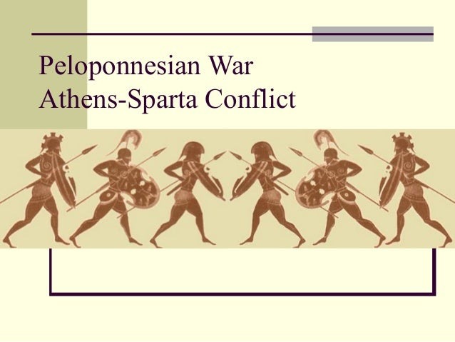 Peloponnesian War Athens-Sparta Conflict
