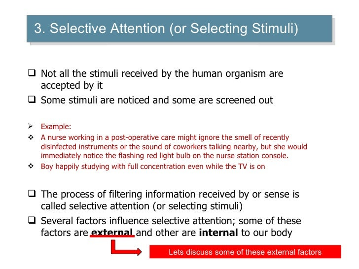 selective perception examples Twelve wikipedia articles articles selective exposure theory 1 selective perception 5 selective • another example of the cognitive dissonance theory can.