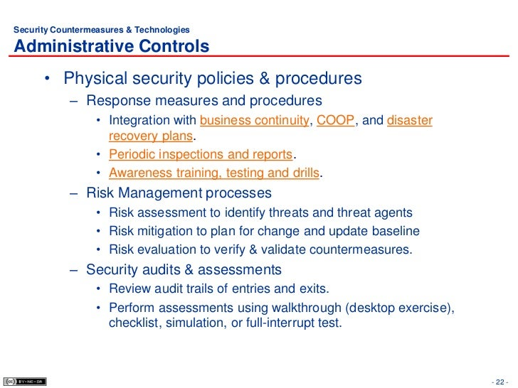 6 Physical Security