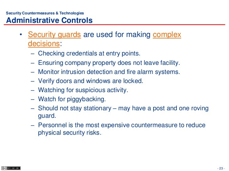how to write a physical security plan