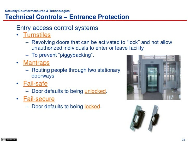 verification of the physical security controls Data center physical security—controls provide reasonable assurance that data centers that house  without this verification, google does not allow an.