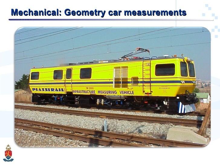 Mechanical: Geometry car measurements
