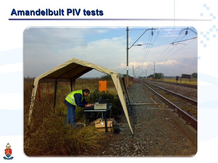 Amandelbult PIV tests