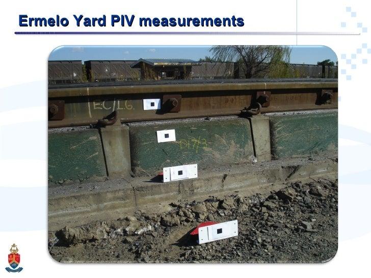 Ermelo Yard PIV measurements