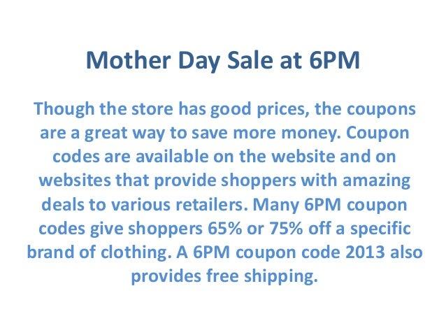 6pm coupon codes