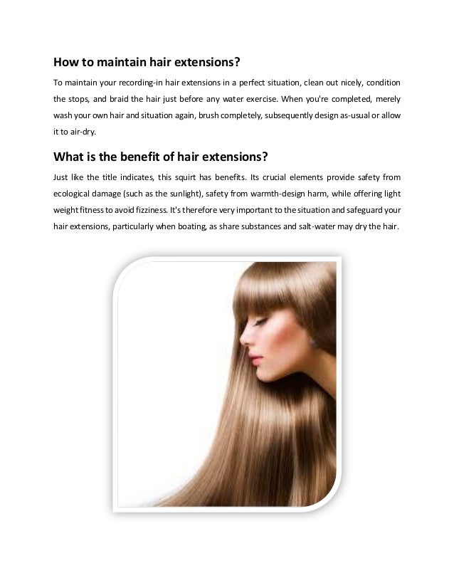 6 Points You Should Aware Of When Using Hair Extensions London