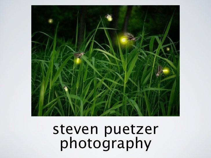 steven puetzer  photography