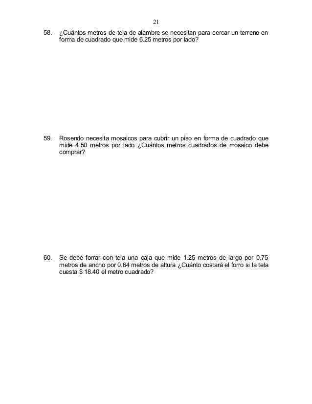 6 problemas v3ro - Cuanto cuesta pintar un piso de 50 metros ...