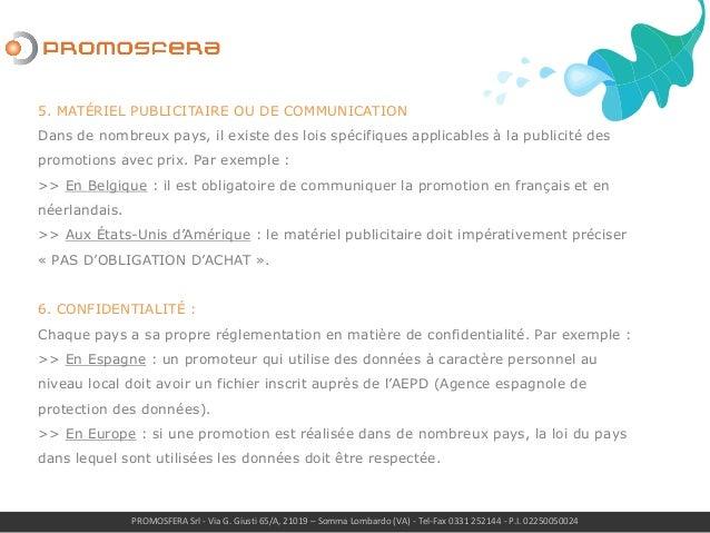 PROMOSFERA Srl - Via G. Giusti 65/A, 21019 – Somma Lombardo (VA) - Tel-Fax 0331 252144 - P.I. 02250050024 5. MATÉRIEL PUBL...