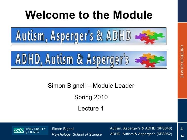 Welcome to the Module Simon Bignell – Module Leader Spring 2010 Lecture 1