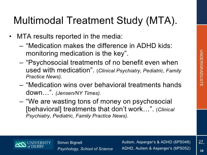 Behavioral Treatments For Kids With Adhd >> Topic 8 - Treatment for ADHD 2010