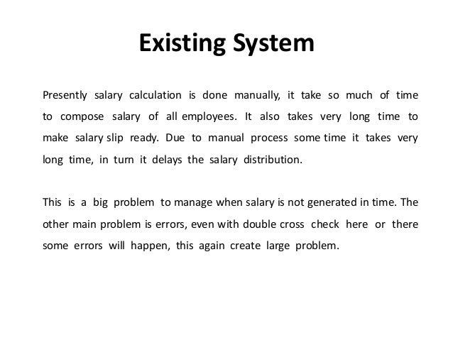payroll system definition