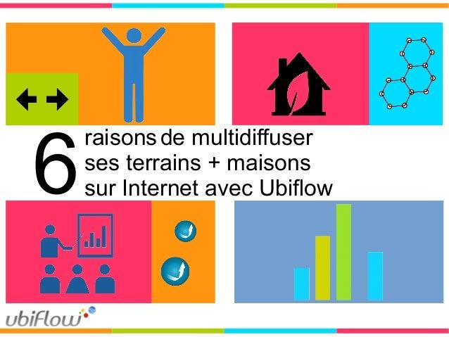 raisonsde multidiffuser ses terrains + maisons sur Internet avec Ubiflow6