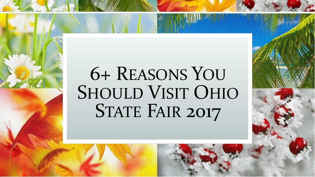 6 Reasons You Should Visit Ohio State Fair