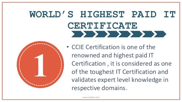 Why to consider CCIE Certification Seriously