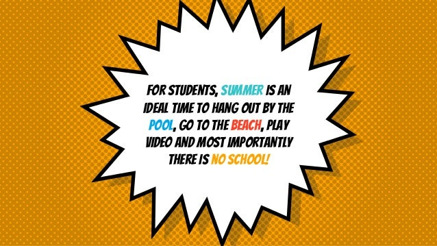 6 Reasons to Spend Your Summer Reading Slide 2