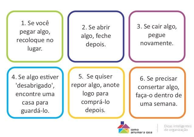 6 Regras Para Manter A Casa Em Ordem Para Imprimir