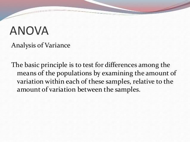 anova in research methodology pdf