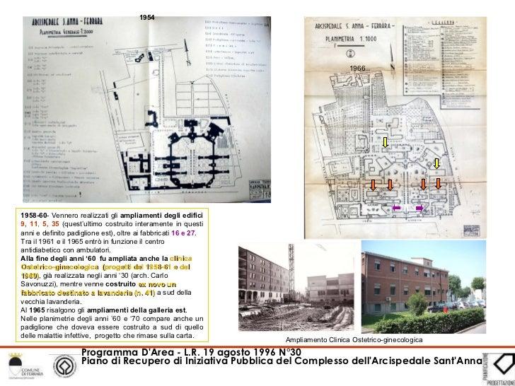 1958-60 - Vennero realizzati gli  ampliamenti degli edifici  9, 11 ,  5, 35  (quest'ultimo costruito interamente in questi...