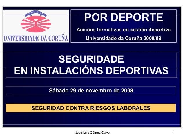 POR DEPORTE                          Accións formativas en xestión deportiva                             Universidade da C...