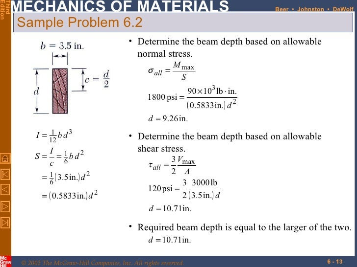 shear force example. 13. shear force example d