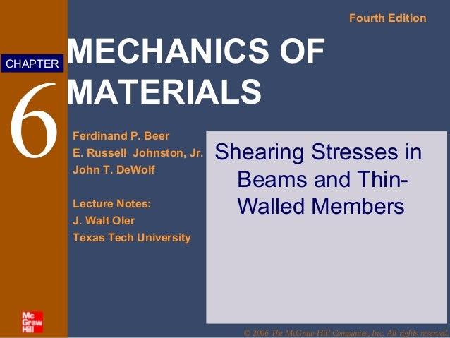 mechanics of materials 4th edition pdf download