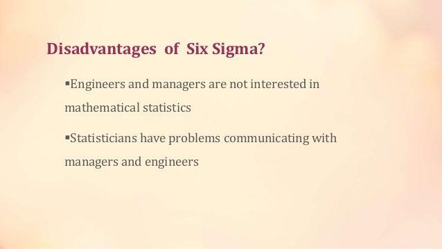 Benefits of Six Sigma